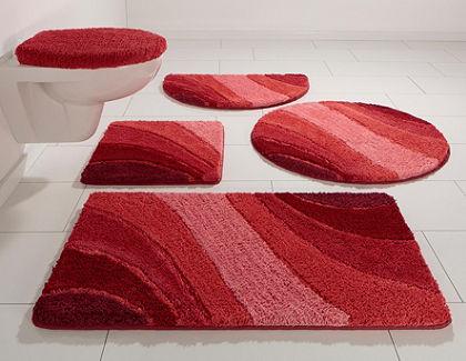 Súprava pred závesné WC, my home »Josie« (3-dielne), mikrovlákno, výška 20 mm, protišmyková úprava