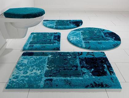 Fürdőszobaszőnyeg, félkör, Grund, »Amay«, magasság 20mm, csúszásgátló hátoldallal