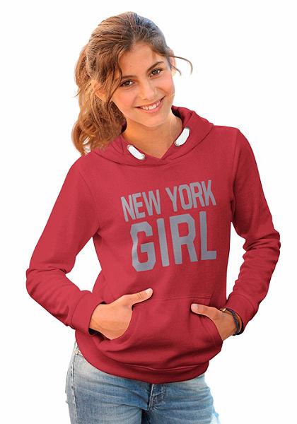 Mikina s kapucňou, pre dievčatá