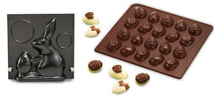 Dr. Oetker 3D-s nyuszis sütőforma + szilikon húsvéti csokitojás bonbon forma