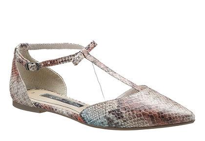 Tamaris pántos balerinacipő