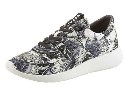 Esprit fűzős cipő, graffiti nyomattal