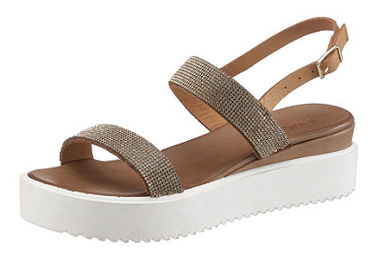 Inuovo Sandále, lesklý vzhľad