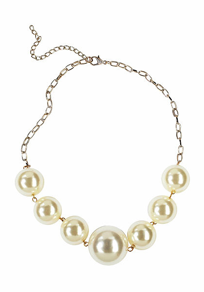 J. Jayz nyaklánc»nagy dekoratív gyöngyökkel«