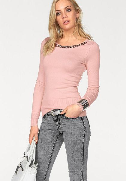 Melrose kerek nyakú pulóver