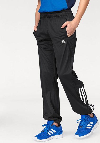 adidas Performance ESSENTIALS MID 3 STRIPES PES PANT Sportovní kalhoty