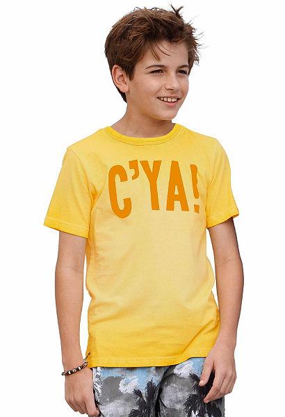 Arizona póló mosott hatású, fiúknak