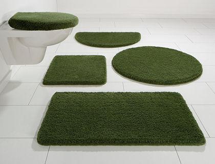 Kúpeľňová predložka, 3-dielna pred závesné WC, my home »Jambi«, výška 20 mm, protišmyková úprava