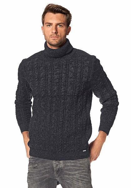 Bruno Banani garbónyakú pulóver