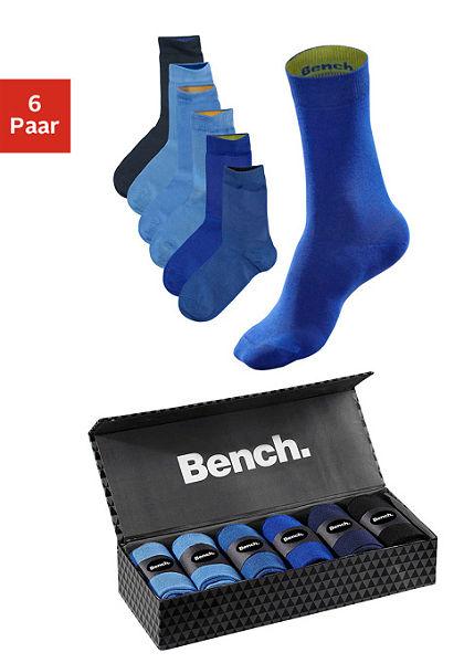 Bench zokni (6 pár) ajándékdobozban