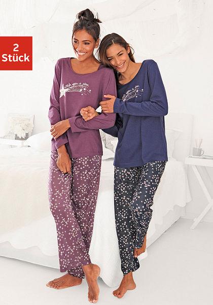 Hosszúujjú pizsamák (2db)