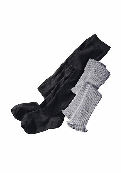 CFL Souprava: punčochové kalhoty a štulpny, (2dílná)