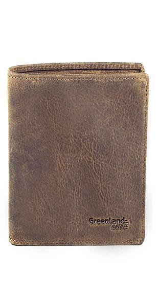 Greenland pénztárca bőrből