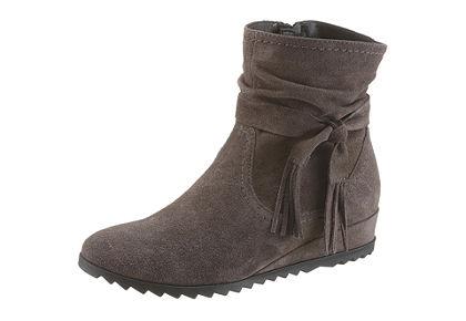 Tamaris kotníčková obuv na klínu
