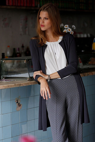 s.Oliver Premium 7/8 kalhoty