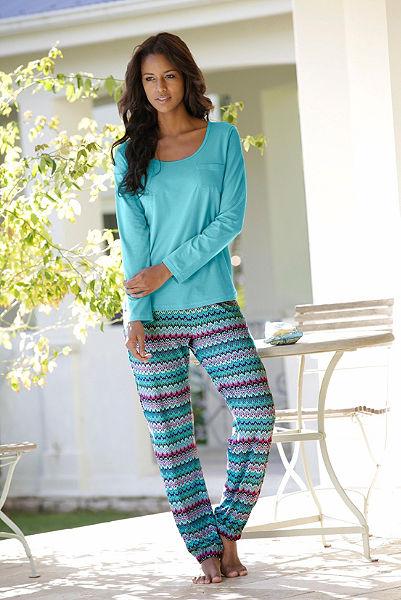 Pyžamové dlhé nohavice
