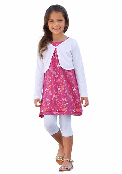 Kidoki Bolero, ruha&legging (3 részes), lányoknak