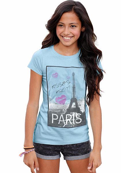 Arizona hosszú póló fotónyomással, lányoknak