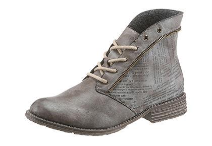 Rieker šněrovací kotníčková obuv