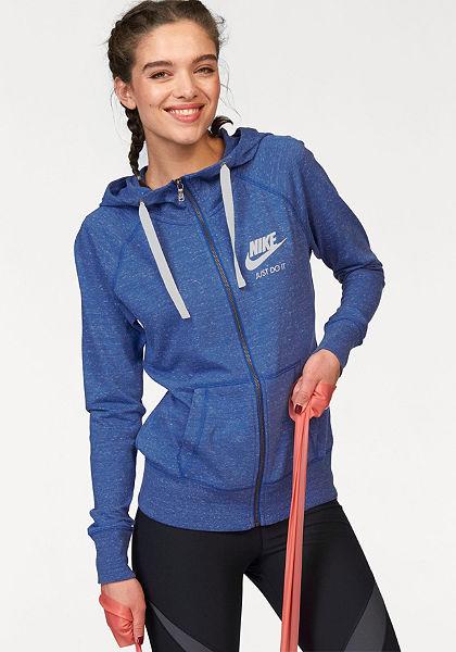 Nike NIKE GYM VINTAGE FULLZIP HOODIE Mikina s kapucňou
