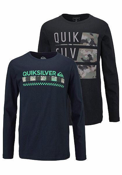 Quiksilver tričko s dlhými rukávmi