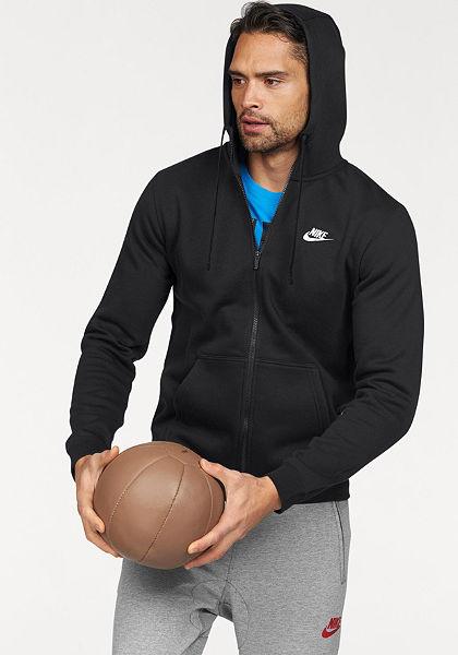 Nike Sportswear Mikina s kapucňou »NSW HOODIE FULLZIP FLEECE CLUB«