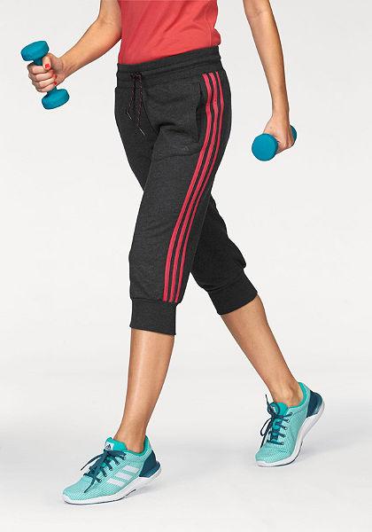 adidas Performance ESSENTIALS 3S 3/4 PANT 3/4 pumpkové nohavice