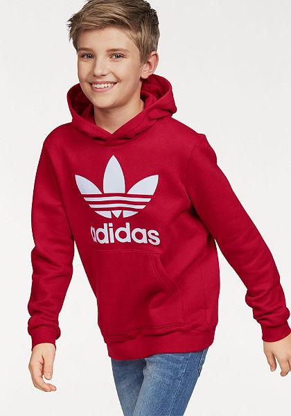 adidas Originals  »J TREFOIL HOOD« pulóver