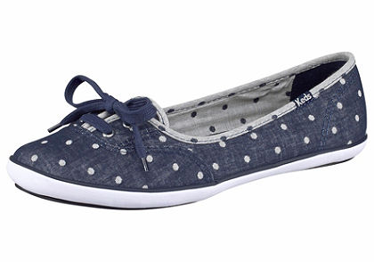 Keds Teacup Chambray Baleríny