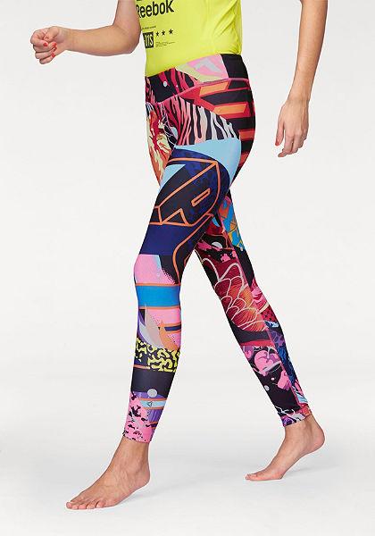 Reebok  »Yoga Graffiti Collab Tight« jóga nadrág