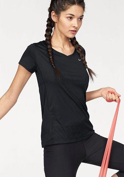Nike Běžecké tričko »MILER V-NECK«