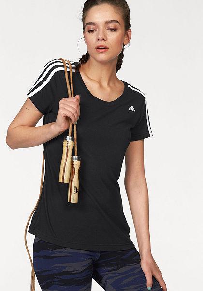 adidas Performance ESSENTIALS 3S SLIM TEE Tričko