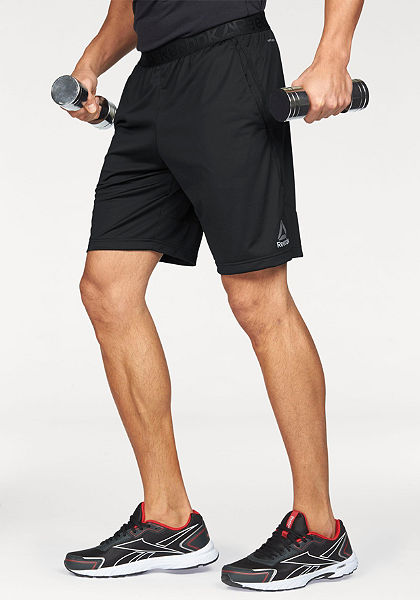 Reebok  »Workout Ready Stacked Logo Short« funkcionális rövidnadrág