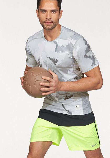 Nike Sportovní tričko »NIKE PRO HYPERCOOL TOP SHORT SLEEVE FITTED AOP«