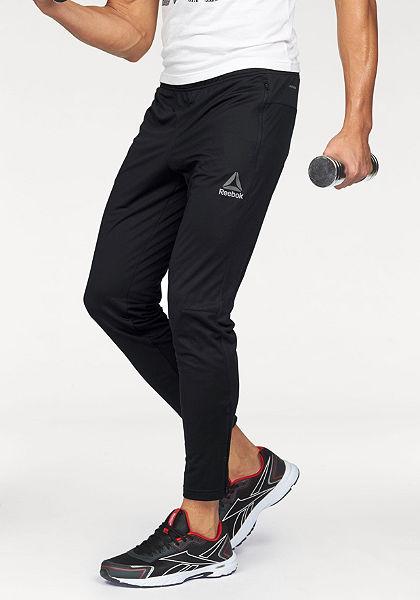 Reebok portovní kalhoty »Workout Ready Stacked Logo Trackster Pant«