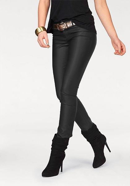 Melrose Kalhoty z imitace kůže