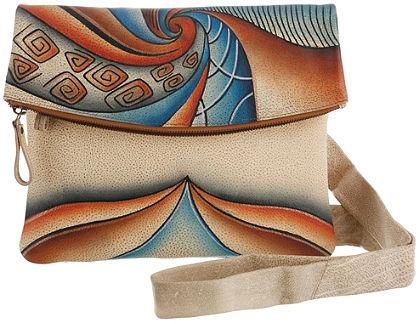 Art & Craft by Greenland Taška, ručně malované kožené