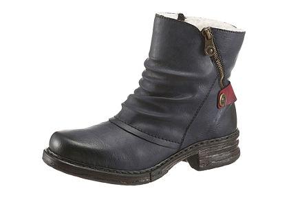 Rieker zimní kotníčková obuv