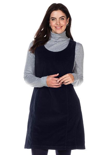 sheego Casual Kordové šaty