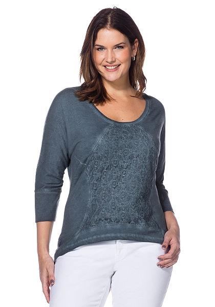 sheego Style Dlouhé tričko