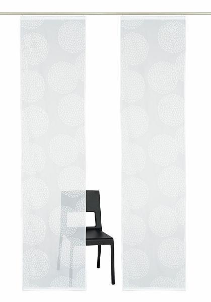 Panelový záves, my home »Belem« (2 ks s príslušenstvom)