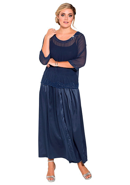sheego Style Plisovaná sukně