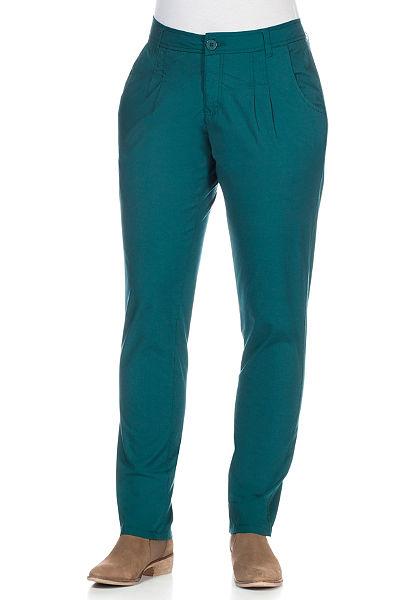 sheego Casual Chino nadrág kényelmes stressz minőségben