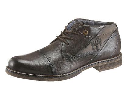 Bugatti fűzős magasszárú cipő