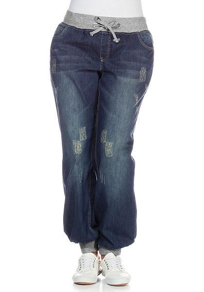 sheego Denim Pumpkové džínsy