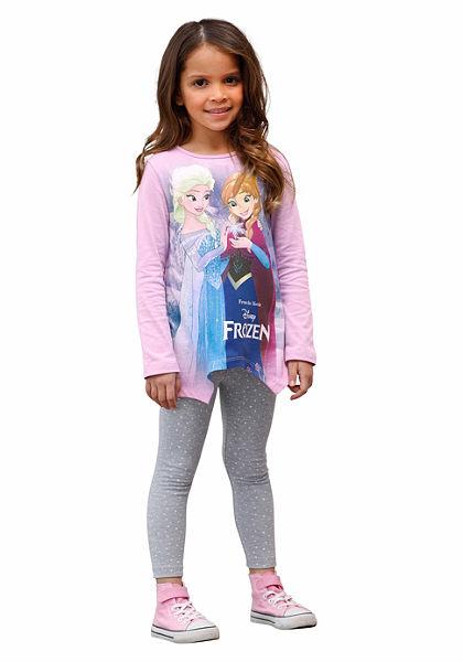 Disney Tričko a legíny Ľadové kráľovstvo princezná Elsa a Anna, pre dievčatá