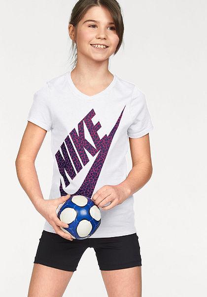 Nike Tričko »COTTON SHORT SLEEVE VNECK BM YOUTH«
