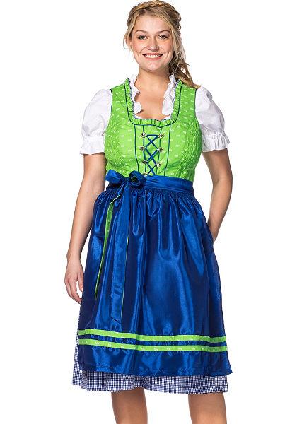 Sheego Class Dirndl-népviseleti ruha (3részes)