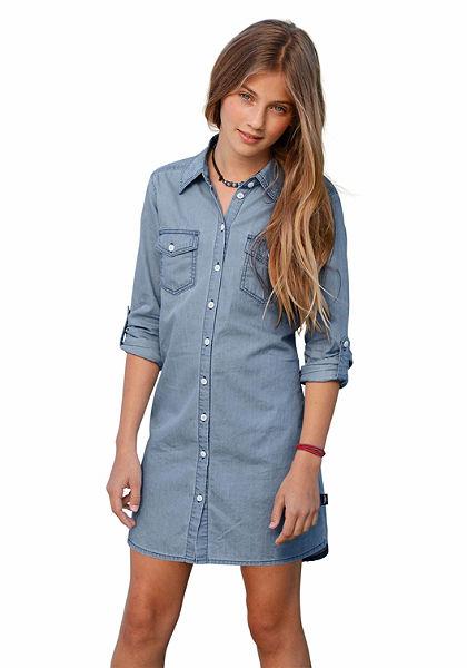 Arizona lányka farmer hatású ruha