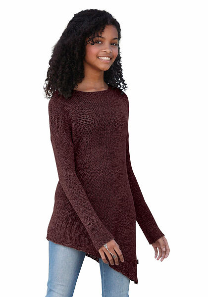 Arizona aszimmetrikus lányka pulóver